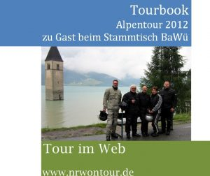 Alpentour2012 Tourbook Titelbild NoT