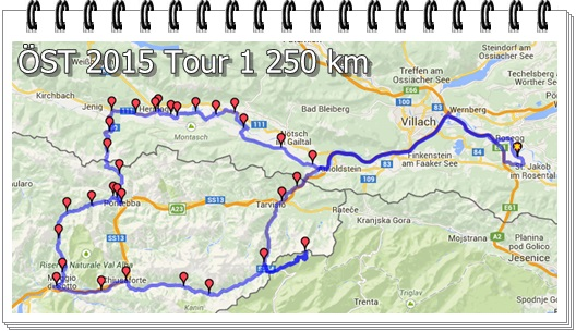OEST Tour1 V1.0 250km