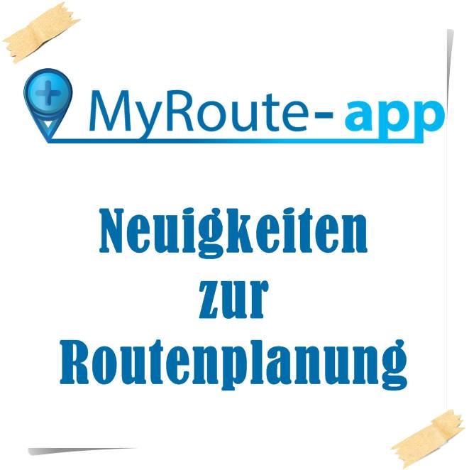NRW on Tour und MyRoute-app