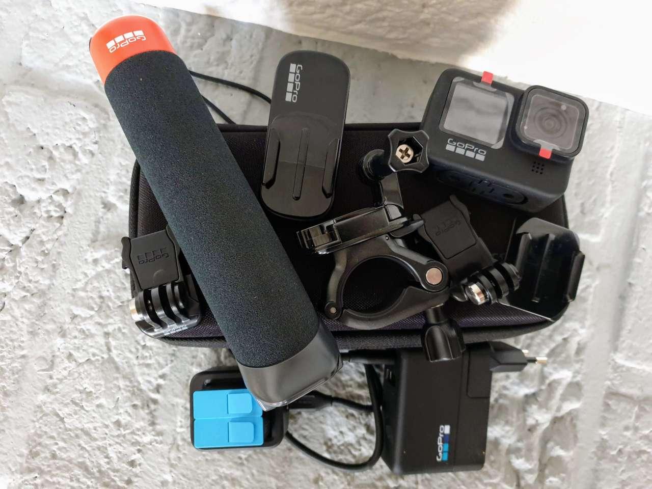 GoPro Hero9 Black mit Zubehör
